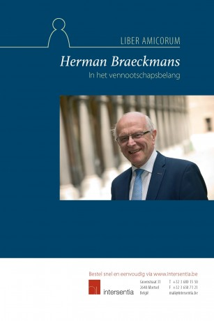 In het vennootschapsbelang: liber amicorum HermanBraeckmans