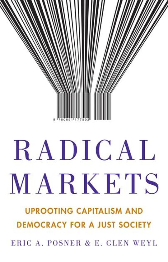 "Glen Weyl presents ""Radical Markets""  (co-written with E. Posner) at the Brussels' campus of KU Leuven"