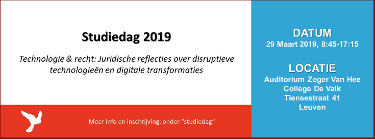 Technologie & recht: Juridische reflecties over disruptieve technologieën en digitale transformaties